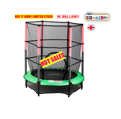 NW Trampoline With Safety Net outdoor garden for children,adults,family fun wow