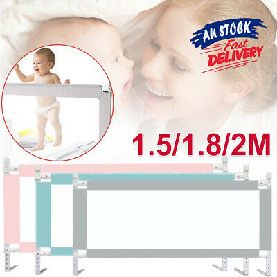 Infant Toddler Baby Rail Summer Adjustable Universal Lift Child Guard Bed ACB#