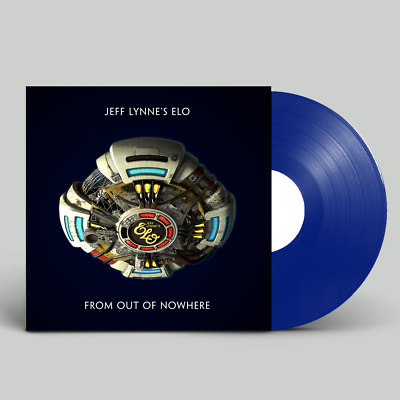 JEFF LYNNE'S ELO 'FROM OUT OF NOWHERE' Blue Coloured VINYL LP (2019)
