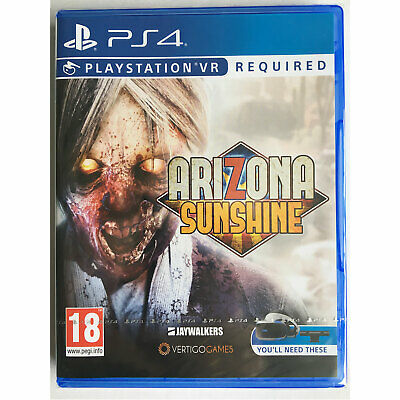 Arizona Sunshine VR (PS4) New and Sealed - PS Playstation VR Required