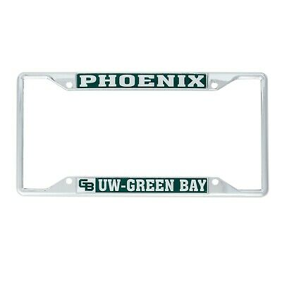 Desert Cactus University of Wisconsin-Green Bay UWGB Phoenix NCAA Metal License Plate Frame for Front Back of Car Officially Licensed Alumni