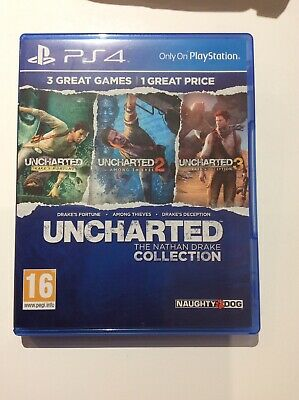 Uncharted The Nathan Drake Collection (Sony PlayStation 4) Fast Free Post