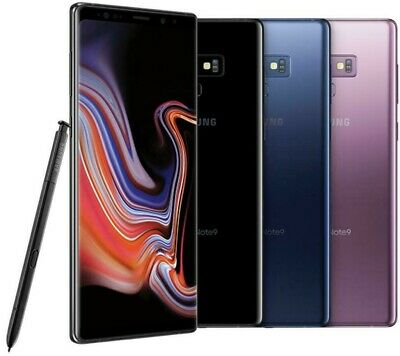 Samsung Galaxy Note 9 - 128GB - Unlocked - Verizon / AT&T / Global