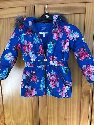Joules Girls Coat aged 5 Years