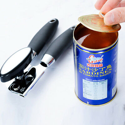 Heavy Duty Can Opener Strong Stainless Steel With Handle Canned Tool B