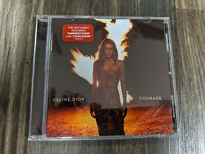 Celine Dion Courage 2019 CD Brand New Factory Sealed