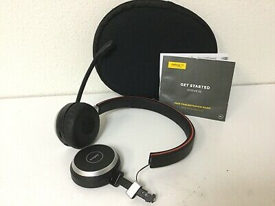 Jabra Evolve 65 Bluetooth Wireless Noise Cancelling Headset - FOR PARTS