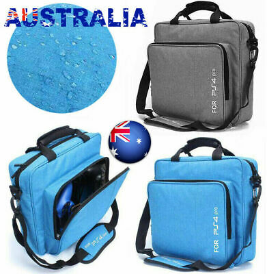 Travel Waterproof Case Shoulder Carry Storage Bag For PlayStation PS4 Pro Slim Z