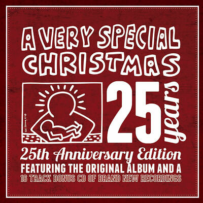 A VERY SPECIAL CHRISTMAS 25 Years 2-CD Joy to the World TRAIN Cheap Trick   1128