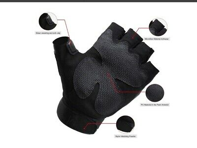Half Finger Gloves Military Tactical Airsoft Hunting Riding Outdoor Sports Glove