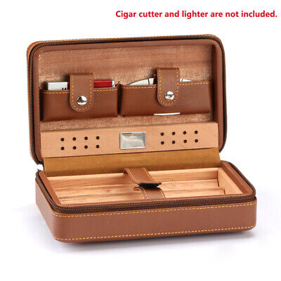 COHIBA Portable Cuban Humidor Case leather Cigar Storage Humidor Christmas Gift