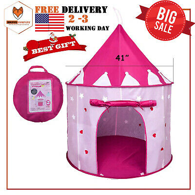 Toys For Girl Kids Children Play Tent House for 3to 10 Years Olds Age Best Gift