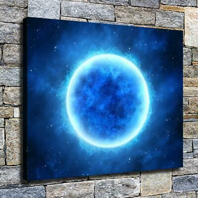 """12""""x14""""Blue glowing stars HD canvas photo home decor wall art painting posters"""