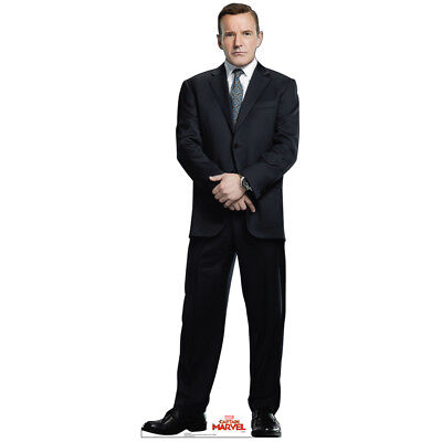 PHIL COULSON Captain Marvel CARDBOARD CUTOUT Standup Standee Poster Clark Gregg