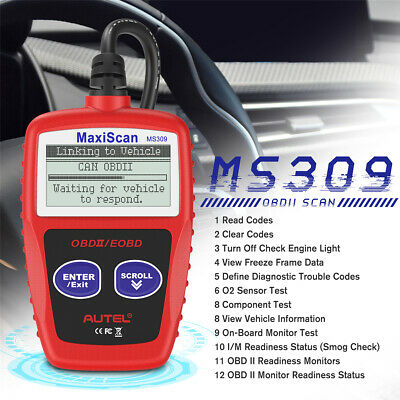 Autel MS309 OBD2 Engine CAN Auto Scanner Tool Diagnostic Trouble Code Reader CA