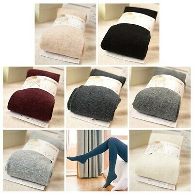 Womens Cashmere Pantyhose Winter Thick Warm Tights Stockings Seamless Trend