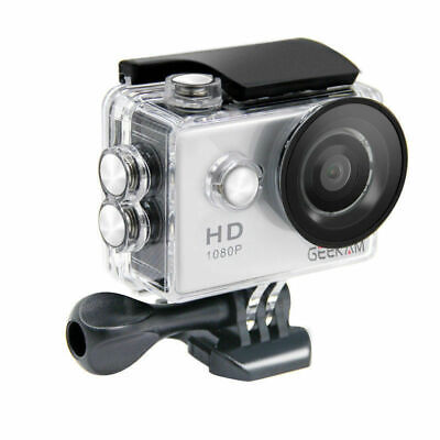 """1080P 12MP Waterproof 2"""" Sport Action Camera HD for GoPro Video Camcorder Gift"""