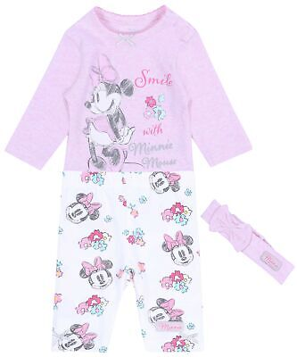 Body rosa + leggings + fascia Minnie Mouse DISNEY