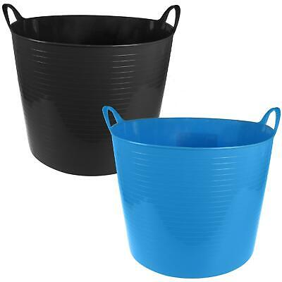 FLEXI TUB BUCKET AVAILABLE IN 5 SIZES CHOOSE YOUR COLOUR FOR FEED WATER UK MADE