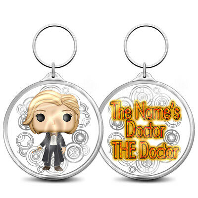Key Ring Doctor Who inspired 13th Doctor Jodie Whittaker Bag Charm Key Fob