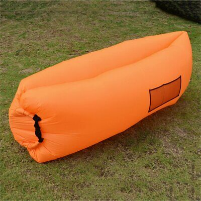Ultra-light Outdoor Inflatable Lounger Bag Air Sofa Fast Inflated Air Chairug1