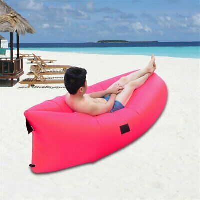Ultra-light Outdoor Inflatable Lounger Bag Air Sofa Fast Inflated Air Chairoe0
