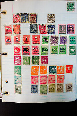 Worldwide Overloaded 20th Century Stamp Collection Thousands of Items from G-L