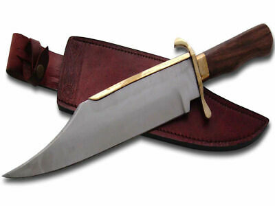 Bowie Knife (46cm) with Leather Sheath - Brand New