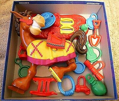 BUCKAROO BOARD GAME by Hasbro All Parts Checked and Complete / Christmas Games