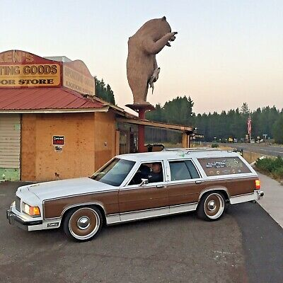 """1989 Mercury Grand Marquis Colony Park GS SUPER CLEAN Official Total Performance Speed Shop """"Rally Wagon"""" is a Fantastic Reliable Car"""