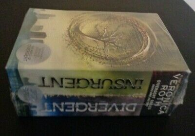 Divergent Insurgent Series Box Set by Veronica Roth (2012 Hardcover) NEW Sealed