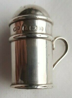 Antique Sterling Silver shaker, Birmingham made by Mitchell Bosley & Co