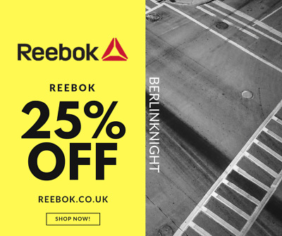 Reebok 25% Off Discount Code