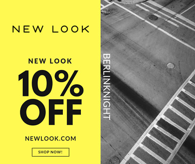 New Look 10% Discount Code Promo Code