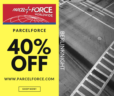 Parcelforce 40% Discount Code Promo Code