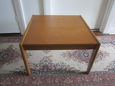 Vintage Very Retro Danish Square Lamp Coffee Or Side Table.