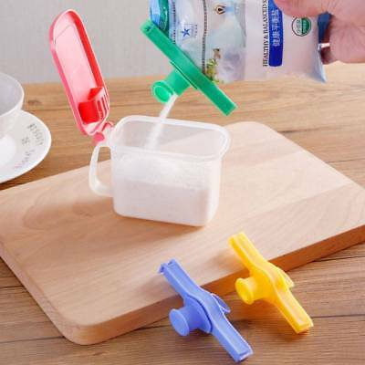 Bag Clip Storage Food Fresh Clips Sealing With Cap Type Spray Nozzle Reuseable g