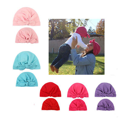 Fashion Mom Mother Baby Child Toddler Kid Knit Hat Beanie Beanie Cap B