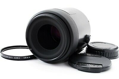 PENTAX-FA SMC 100mm f/2.8 Lens For K Mount W/Caps Excellent++ From Japan Tested
