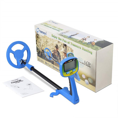 Metal Detector for Children, Find Coins Artifacts Treasures, Easy-to-Use LCD for