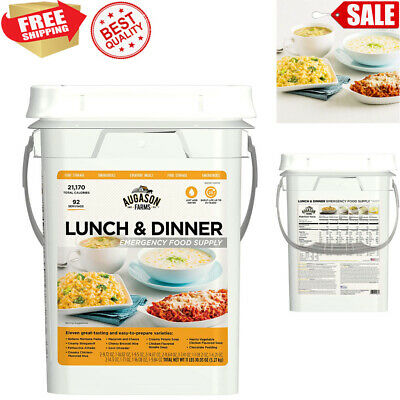 Emergency Wise Survival 30 Day Dried Food Supply Pail SOS Kit Meals WORLDWIDE