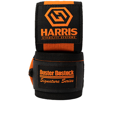 Buster Bostock Signature Series Wrist Wraps 90cm Harris Stability Systems