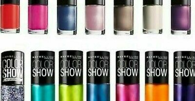 Maybelline New York Colour Show Nailpolish 7ml ~Lots of shades~