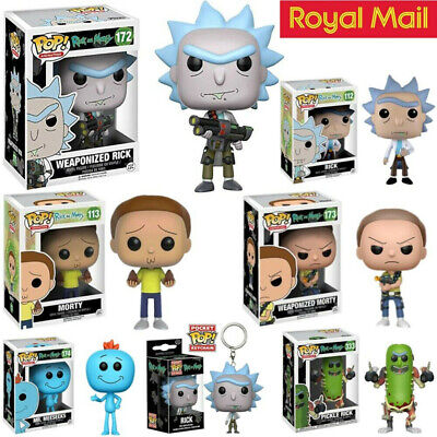 New Limited Edition Funko Pop Rick And Morty Vinyl Action Figure Toy Kids Gift
