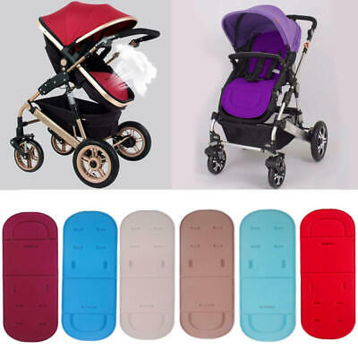 Universal Baby Kids Stroller Pram Pushchair Car Seat Liner Pad Cushion Mat New