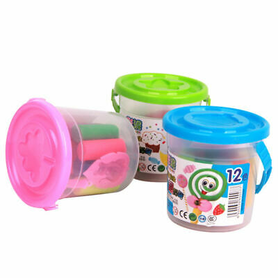 8/12/14colors DIY Plasticine Clay Air Drying Toys Soft Polymer + Modelling J8U9