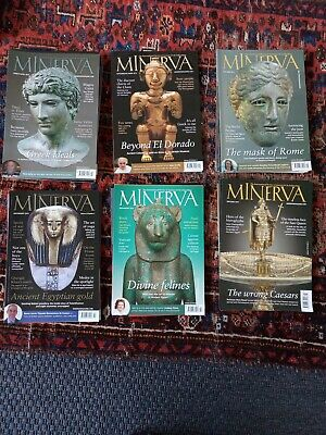 Minerva Review Of Ancient Art And Archaeology 32 issues (2013-18)