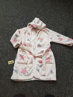 Girls Age 4 Years Dressing Gown From John Lewis