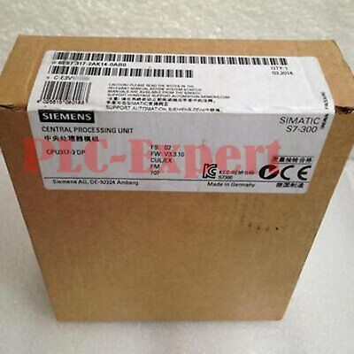 1PC New Siemens 6ES7 317-2AK14-0AB0 One year warranty 6ES73172AK140AB0