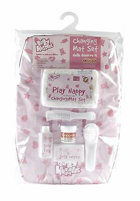Casdon Changing Mat Set Doll Accessory Simple role-play fun Ages 3+